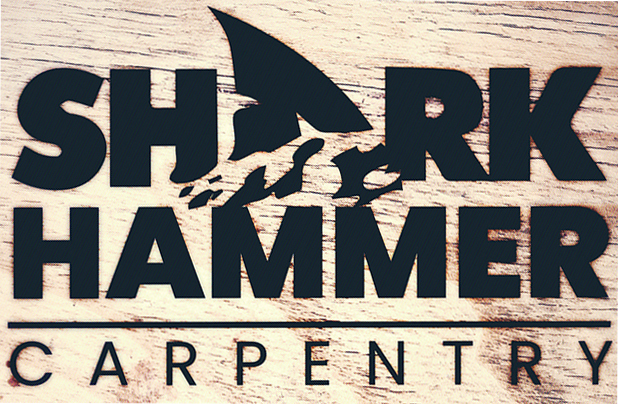 Shark_Hammer_Carpentry_-_Logo_on_Wood